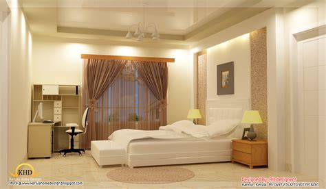 Beautiful Indian Homes Interiors by Beautiful 3d Interior Designs Kerala Home Design And