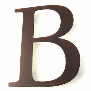 best rusty signs products on wanelo With metal letter b wall decor