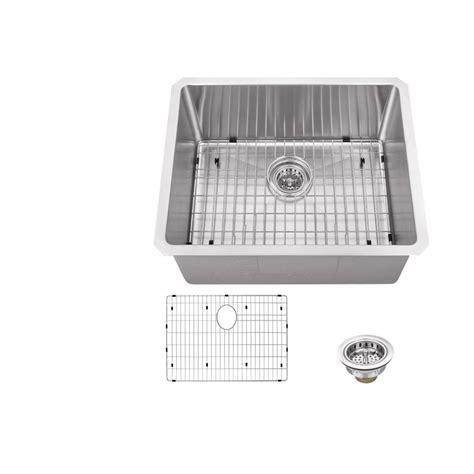 schon kitchen sinks schon all in one undermount stainless steel 23 in 0