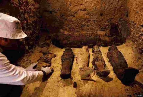egypt unveils ancient tomb  mummies