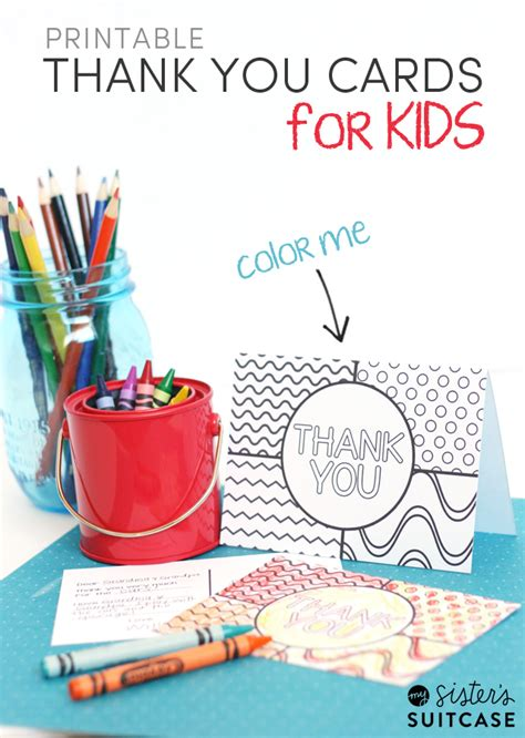 printable   cards  kids  sisters suitcase