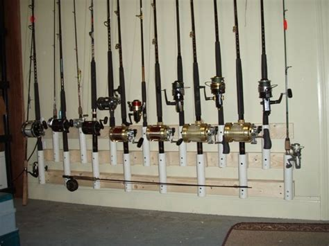 lots   types  fishing rod holders fish