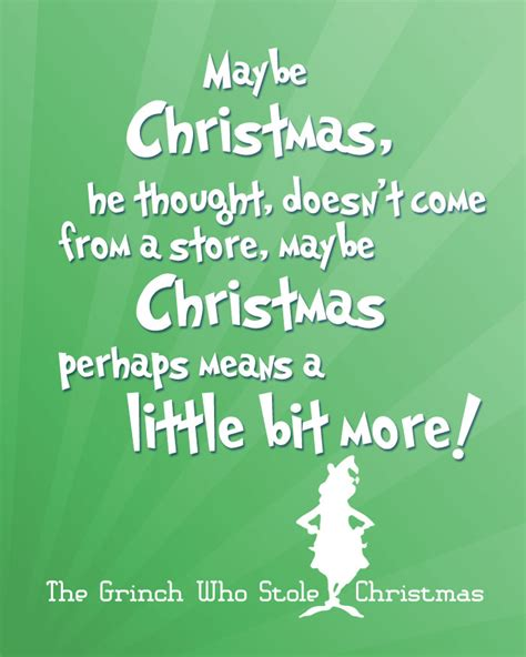 How The Grinch Stole Christmas Quotes.Best Christmas Quotes Grinch