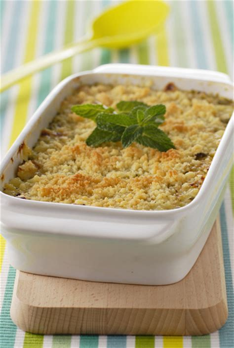hervé cuisine crumble crumble légumes pour 4 personnes recettes à table