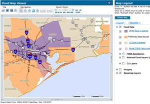 Houston Texas Flood Zone Map