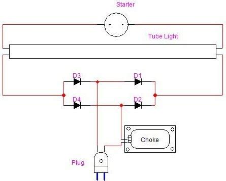 using fuse light electronics project and circuit