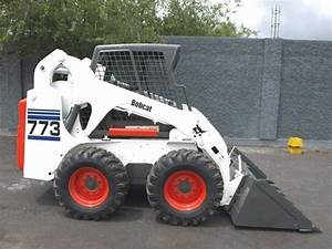 Bobcat 773 G Series Skid Steer Loader High Flowturbo