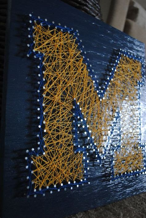 maize blue diy images  pinterest michigan