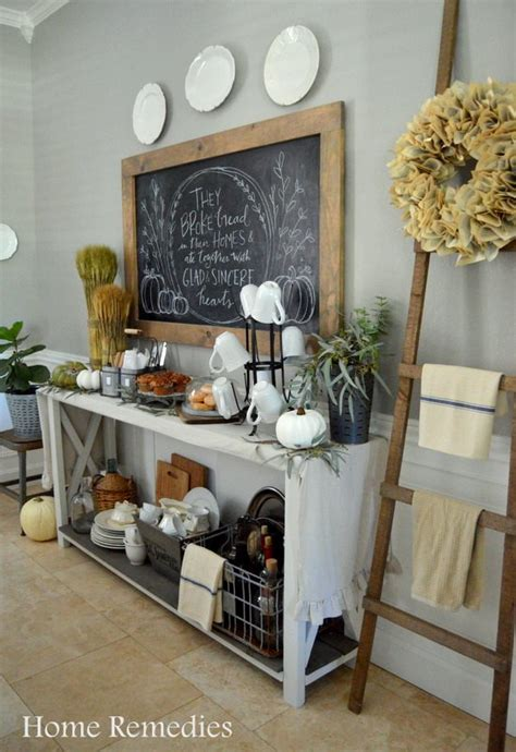 Kitchen Centerpiece Ideas - farmhouse fall home tour hometalk