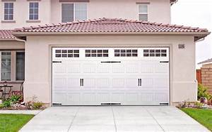 Carriage style garage doors carroll garage doors for Carriage style garage doors kit