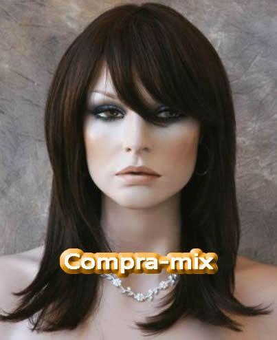 peluca cabello humano 100 color castaño oscuro vv4 3 999 00 en mercado libre