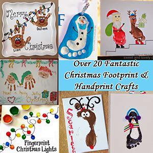 christmas hand  footprint ideas  keeper