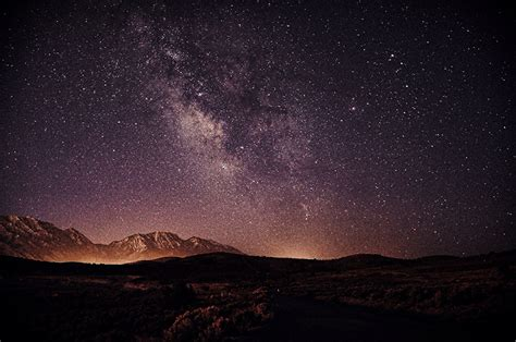 Wallpaper Stars Milky Way Space Sky Night