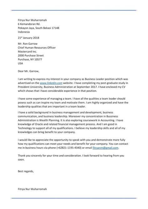 Lop Surat Lamaran Kerja Yang Benar by 10 Contoh Surat Lamaran Kerja Yang Baik Dan Benar Lengkap