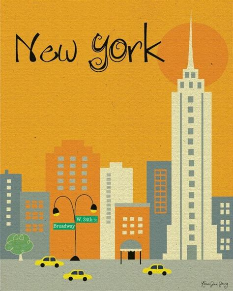 New York Empire State Building Cartoon  Cute Drawing Of