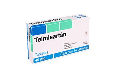 telmisartan  mg precio generico