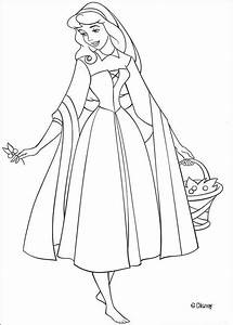 Aurora coloring pages - Hellokids.com