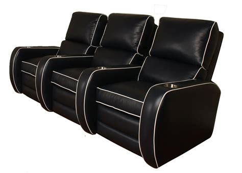 chaise cinema westchester leather home theater leather creations