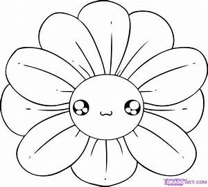 Easy Drawings Of Flowers - ClipArt Best