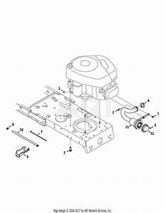 Mtd 13ac76lf058  2012   M12538  2012  Parts Diagram For Engine Accessories