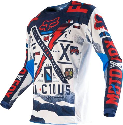fox motocross gear 22 95 fox racing kids boys 180 vicious jersey 235482