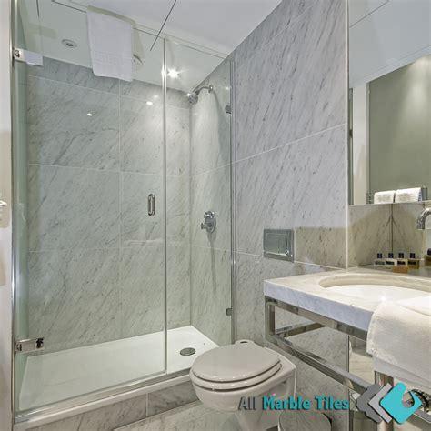 carrara marble bathroom ideas bathroom design with bianco carrara marble tiles
