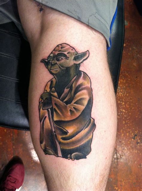 yoda tattoo  tattoo design ideas