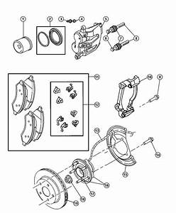 2006 Dodge Dakota Rotor  Brake  Front  Brakes  Maintenance