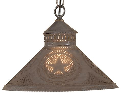 stockbridge shade light pendant with blackened