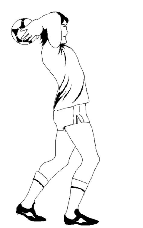 player   throw  soccer coloring page  print  coloring pages