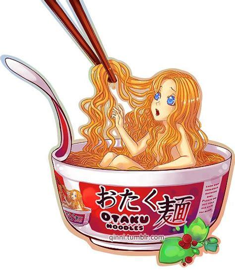 qinni otaku noodles  bowl     girl