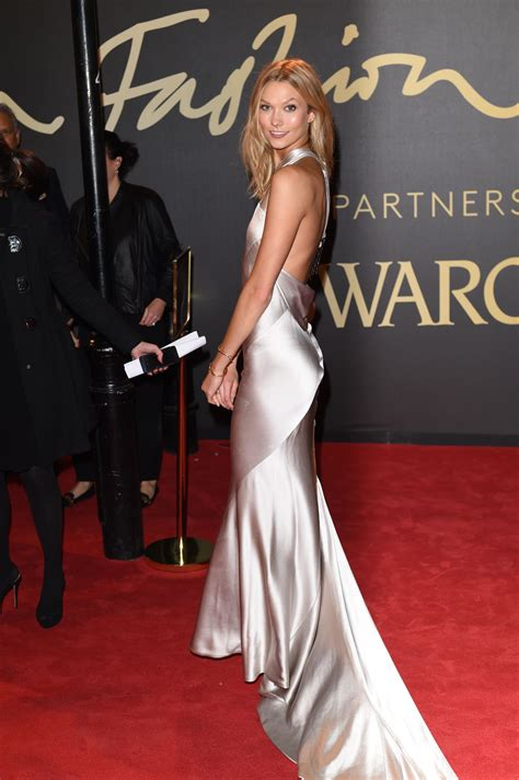 Karlie Kloss British Fashion Awards London