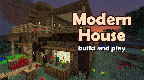 minecraft modern house tutorial youtube