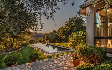 Napa Valley Garden And Vineyard by Serenity Estate Gorgeous Vineyard Country Home In The