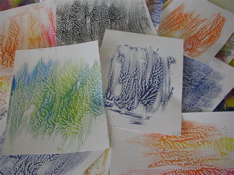 Dendritic Monoprinting