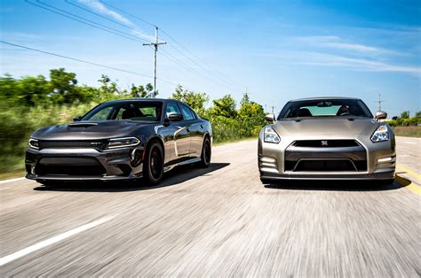 Flavors Of Fast 2015 Dodge Charger Hellcat Vs 2016