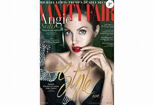 Angelina Jolie Enfonce Par Le Magazine Vanity Fair En