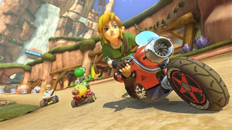 Link F Zero And Animal Crossing Are Coming To Mario Kart
