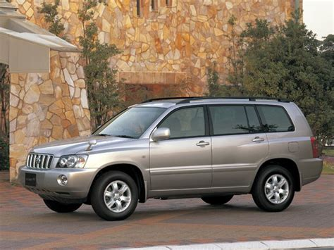 The toyota highlander, also known as the toyota kluger (japanese: Toyota Kluger 2001: Review, Amazing Pictures and Images ...