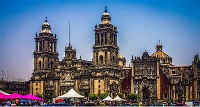 Mexico Cathedral Metropolitan Church Architecture Latin American