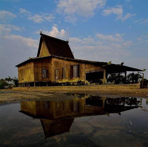 gambar mewarnai rumah adat kalimantan selatan