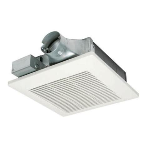 panasonic bathroom exhaust fans home depot panasonic whispervalue 50 cfm ceiling or wall super low