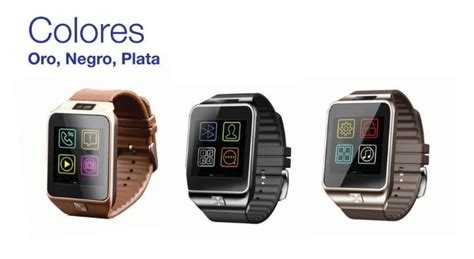 smartwatch v8 compatible con android iphone bluetooth