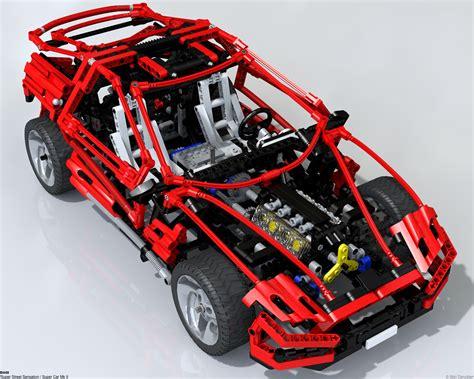 Technics Lego Car by Technicbricks Amazing Lego Technic Raytraced Images