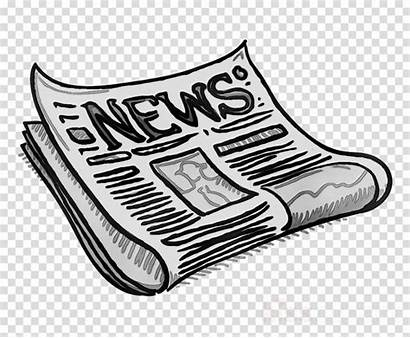 Cartoon Clipart Newspaper Transparent Paper Icon Library