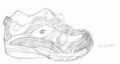 Class Sketches Draw Shoes Homework Decision Shoe
