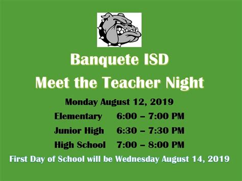 banquete isd homepage