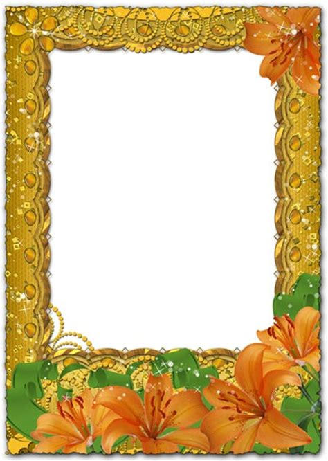 gold picture frame template psd images psd gold