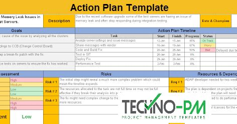 action planning template excel  sample