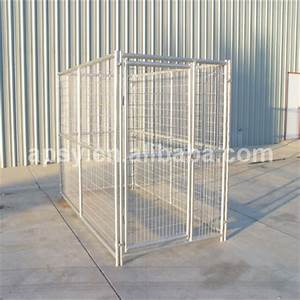 539x939x639 one run galvanized dog kennels in pet cage for With lowes dog kennels for sale